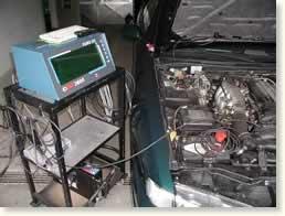 Garage Erwin Lehmann - Atelier - Test antipollution
